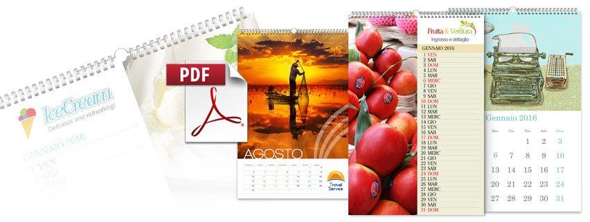 stampa foto calendario da pdf - Daniele Panareo fotografo Lecce