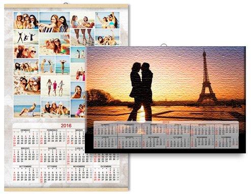stampa fotografica di calendari su tela - Daniele Panareo fotografo Lecce