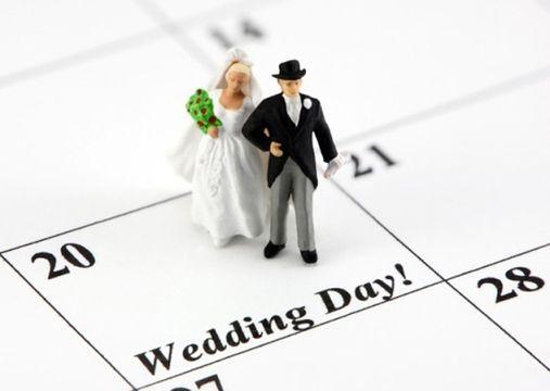 countdown del matrimonio e preparativi