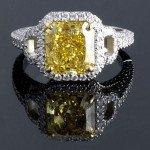 fancy vivid diamante colorato per anello di fidanzamento fotografo matrimonio lecce