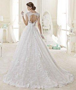 abito da sposa con pizzo principesco - Daniele Panareo Fotografo matrimoni a Lecce