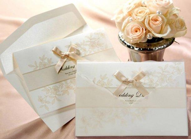Favoloso Partecipazioni di matrimonio: la carta, il carattere, la busta  JI42