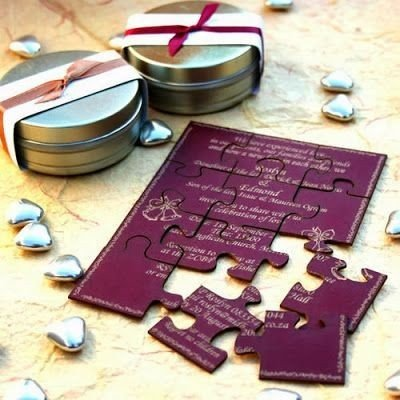 Partecipazioni Matrimonio Puzzle Prezzo.Partecipazioni Di Nozze Indicazioni Consigli E Curiosita