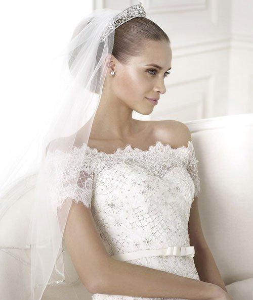Acconciatura sposa accessori capelli corona con velo - Daniele Panareo Fotografo matrimonio Lecce