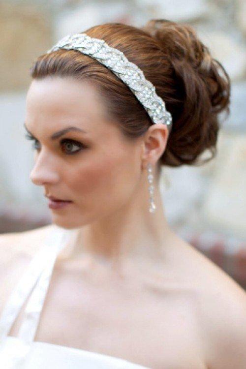 Acconciatura sposa accessori capelli coroncina con brillanti - Daniele Panareo Fotografo matrimonio Lecce