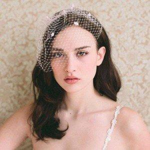 Acconciatura sposa accessori capelli tulle - Daniele Panareo Fotografo matrimonio Lecce
