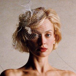 Acconciatura sposa capelli sciolti corti vintage - Daniele Panareo Fotografo Lecce