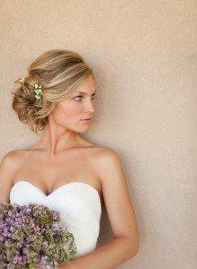 Acconciatura sposa raccolto laterale - Daniele Panareo Fotografo matrimonialista Lecce