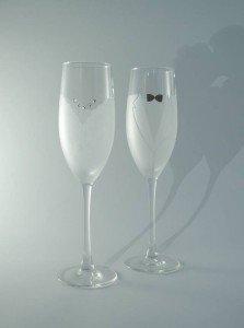 accessori matrimonio bicchieri sposi - Daniele Panareo fotografo di matrimonio a Lecce