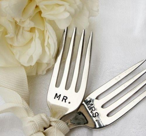 accessori matrimonio posate degli sposi - Daniele Panareo fotografo di matrimonio a Lecce