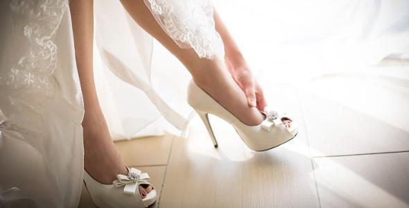 accessori sposa - Le scarpe - Daniele Panareo Fotografo Lecce