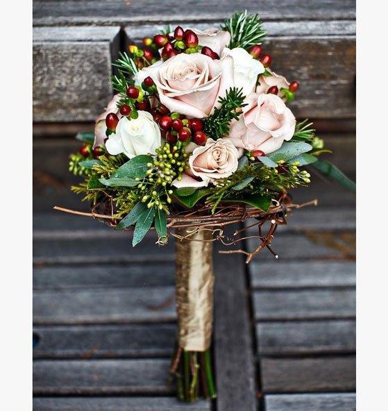 il bouquet sposa d'inverno - Daniele Panareo fotografo di matrimoni a Lecce e provincia