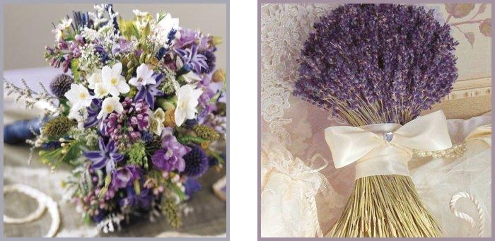 il bouquet sposa monocromo lavanda o viola - Daniele Panareo fotografo di matrimoni a Lecce e provincia