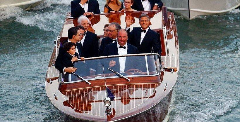 george clooney e il suo tuxedo per il matrimonio - Daniele Panareo fotografo matrimonio Lecce