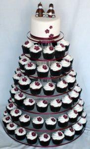Ricevimento tra le nuvole - torta cupcake matrimonio - Daniele Panareo fotografo Lecce
