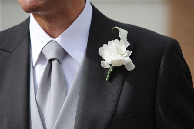boutonnière cerimonia - Accessori sposo - Daniele Panareo fotografo Lecce e provincia