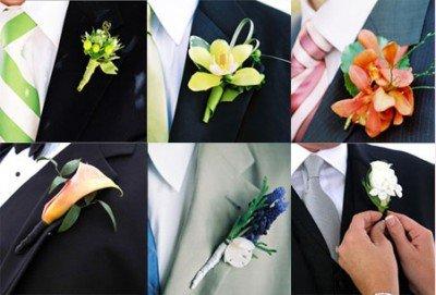 boutonnière o fiore cerimonia - Accessori sposo - Daniele Panareo fotografo Lecce e provincia