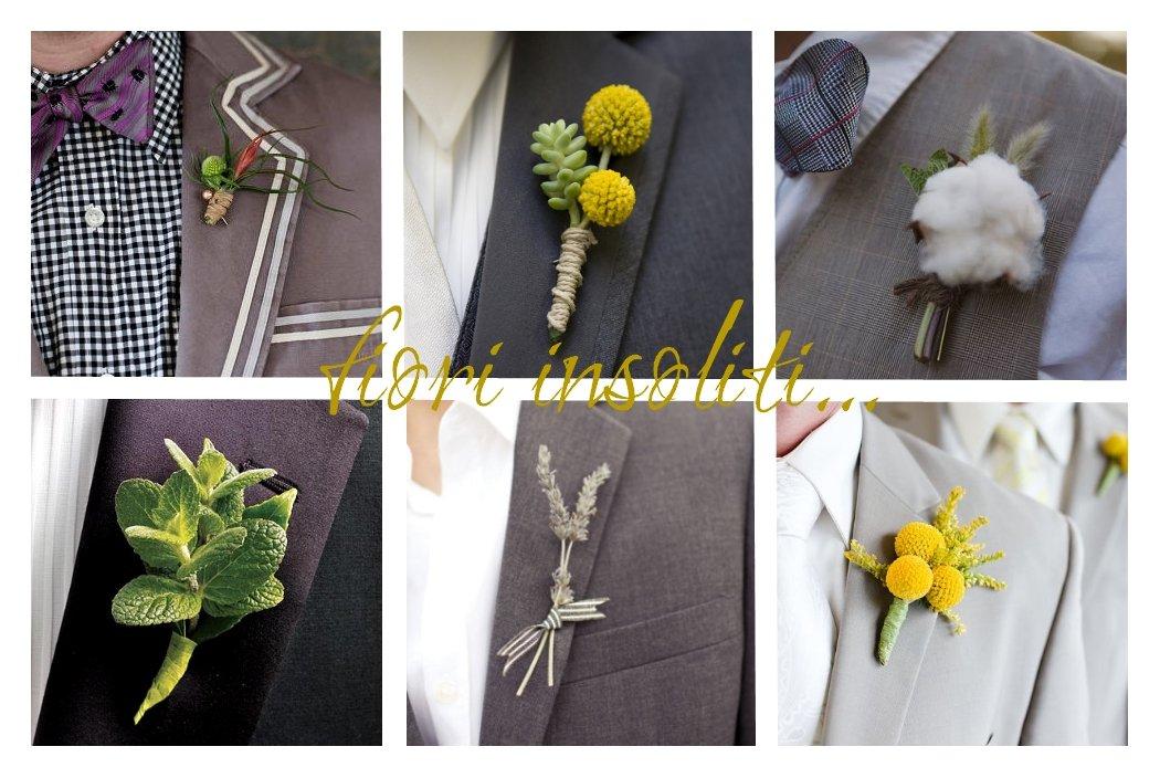 boutonnière o fiore cerimonia originale - Accessori sposo - Daniele Panareo fotografo Lecce e provincia