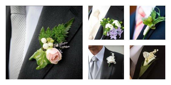 boutonnière o fiore occhiello cerimonia - Accessori sposo - Daniele Panareo fotografo Lecce e provincia