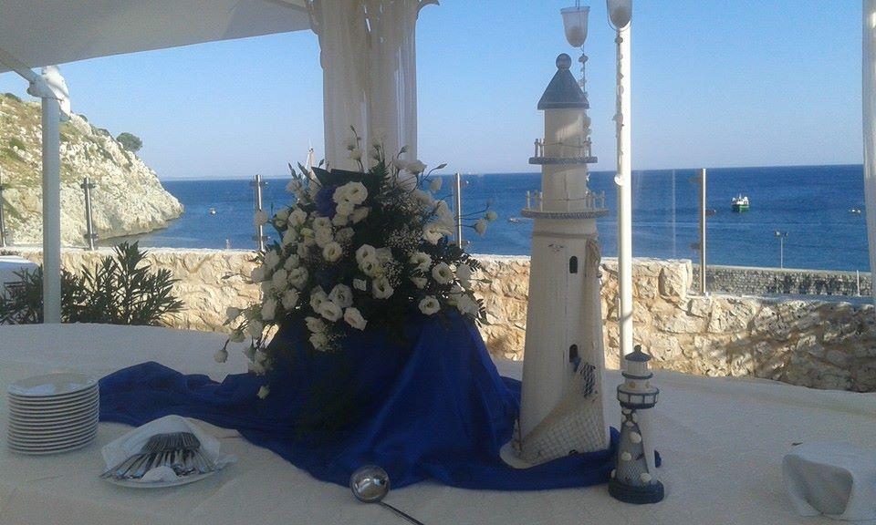 matrimonio al mare Grotta del conte a Castro (Lecce)