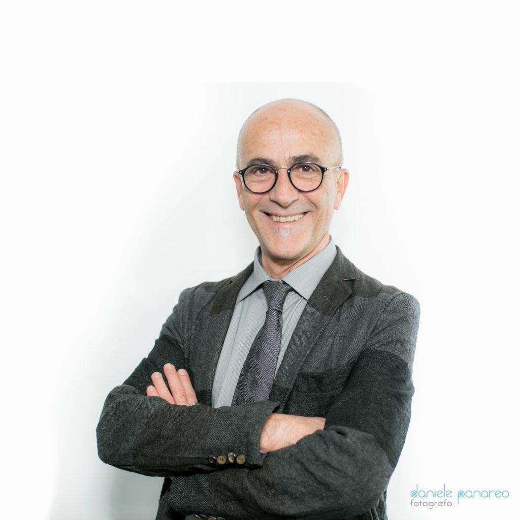 Il docente dell'accademia di trucco Romualdo Petti
