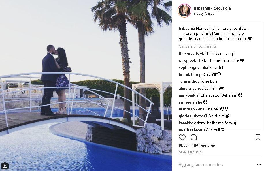 Instagrammer e influencer salentina BabeAnia blubay discoteca a castro