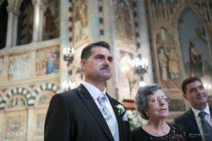 lo sposo attende sua moglie wedding Lecce 2018