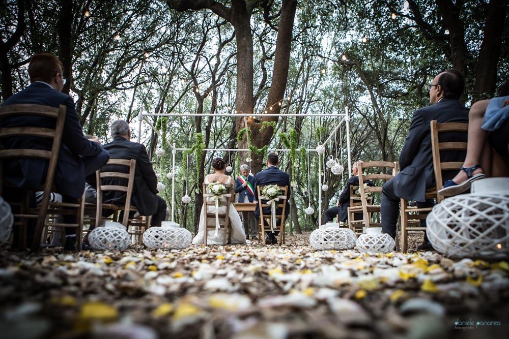Tenuta Tresca_matrimonio nel bosco