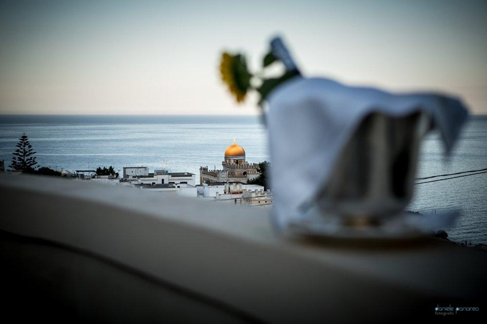 sposarsi nel Salento_cala dei Balcani_la vista di Santa Cesarea Terme
