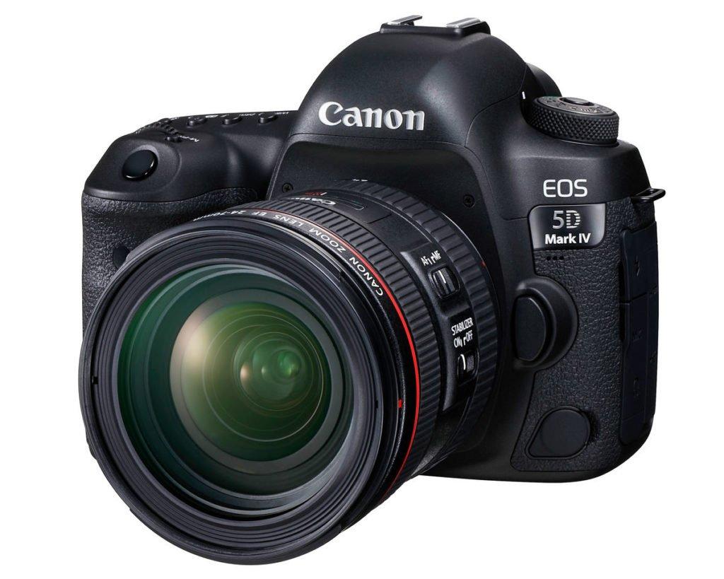 la Canon 5D mark IV come esempio di attrezzatura del fotografo di matrimonio